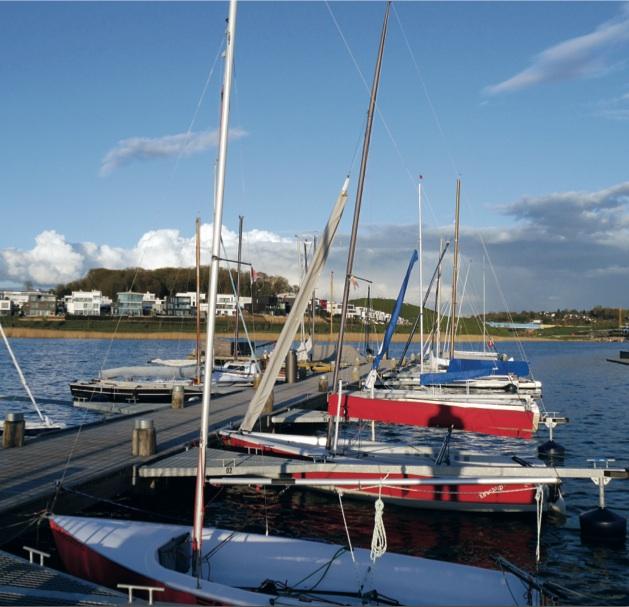 Segelboote Phoenix-See